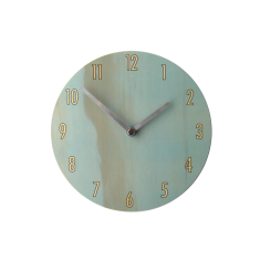 Objectify Blue Shade Wall Clock