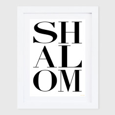 Shalom chic print