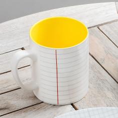 Paper Design Porcelain Mug