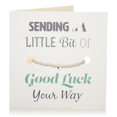 Good luck bracelet & card set
