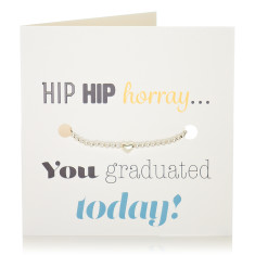 Graduation bracelet & card set