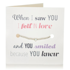 Love bracelet & card set