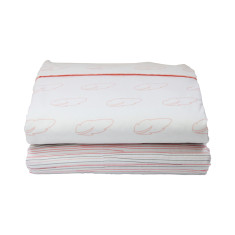 Oh deer cot sheet set