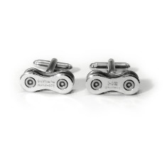 Shimano bike chain link cufflinks