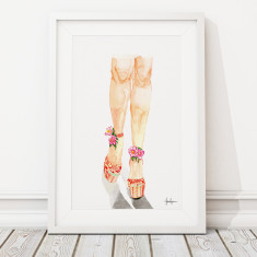 Legs print