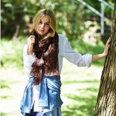 Casey leopard scarf