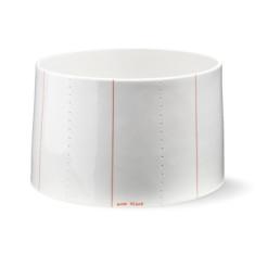 Seam concave bowl