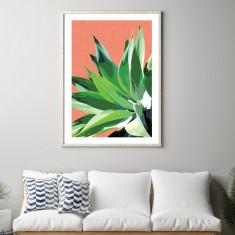 Terracotta palms #1 art print (various sizes)