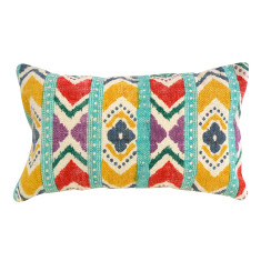 Kilim Collection: Primary Aztec Cushion