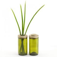 Green vase/jar