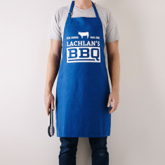 Personalised Real Smoke Apron