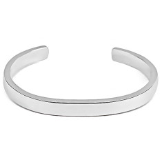Timeless silver cuff