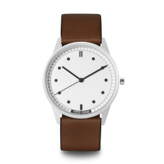 Hypergrand 01 classic watch silver white