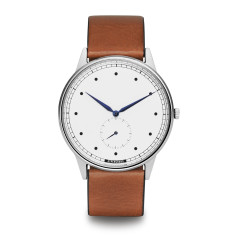 Hypergrand signature watch in silver white