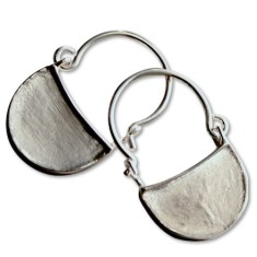Byzantine sterling silver earrings