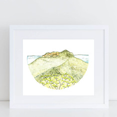 Mount Solitary, Blue Mountains Fine Art Print