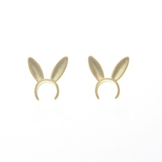 Bunny ear studs