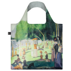 LOQI reusable bag in museum collection in sunday on the island