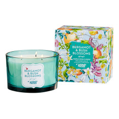 Bergamot & Bush Blossom Triple Wick Candle