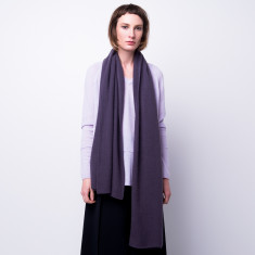 Cashmere scarf shawl in one