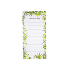 Large Tropical Magnet Backed Memo/Shopping List Book