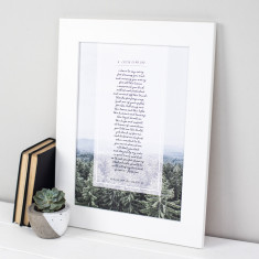 Personalised Dad Poem Print