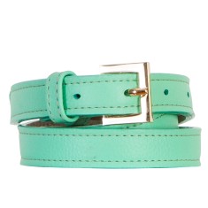 Skinny belt in mint