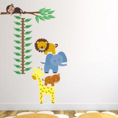 Jungle Animals Height Chart