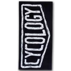 Cycology beach towel for cycling enthusiasts