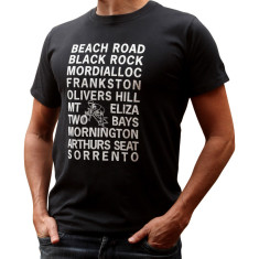 Beach Road: Melbourne t-shirt