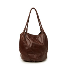 Leather slouch bag (various colours)