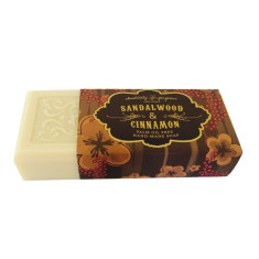 Sandalwood and cinnamon soap