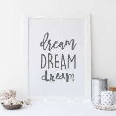 Dream drawing print