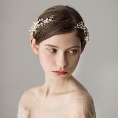 Gold Stylish Bride Headband