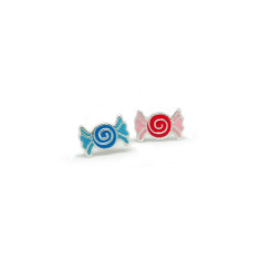 A small world lollies stud earrings