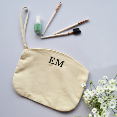 Embroidered Cosmetics Bag