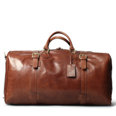 The Flero El Large Leather Travel Bag