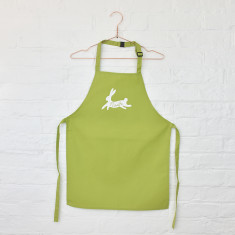 Children's personalised Easter bunny apron