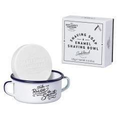 Gents Hardware shaving soap & enamel shaving bowl