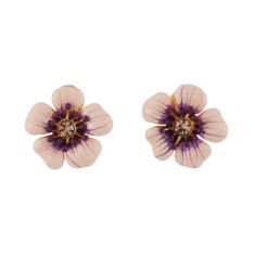 Meadowsweet clip-on earrings