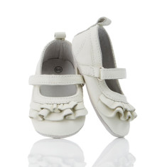 Baby Snow White leather pre-walker shoes
