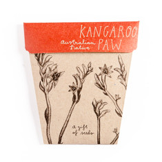 Kangaroo paw gift of seeds