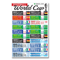Soccer world cup print