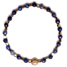 Signature bracelet in sodalite