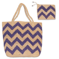 Brice raffia bag set (various colours)