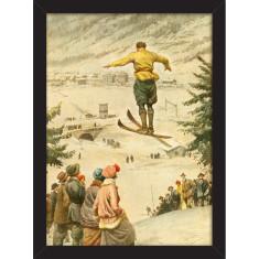 Italian Ski Jump Print