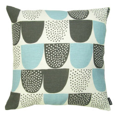 Sokeri cushion cover in aqua