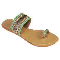 Zoe leather sandals