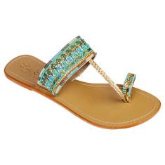 Olivia leather sandals
