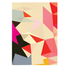 Souston geometric art print